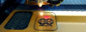 Лазерная гравировка резины