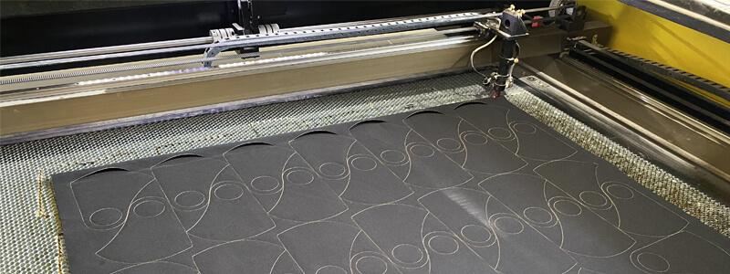 Лазерная резка ткани Москва